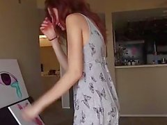 Redhead Teen Gets James Deen Punishment To Her Pussy In The Shower