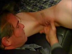 Gwen - Teen seduces older guy in a limo