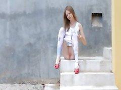 amazing peening of super skinny girl