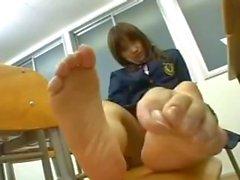 Japanese Schoolgirl Socks and Feet