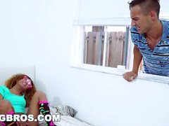 BANGBROS - Kendall Woods Fucks The Tutor on Brown Bunnies (bkb16016)