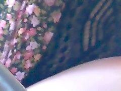 young chick panty flash at panera