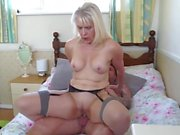 Mature sluts squeeze all juices from young boys