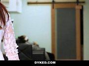 Dyked - Curvy Lesbian Stylisted Seduces Straight Teen