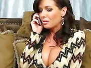 Veronica Avluv invites Johnny over and fucks his huge cock to relieve fear