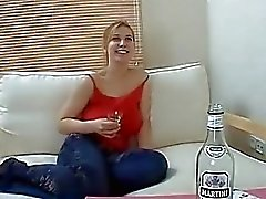 Drunk Amateur Teen in Hardcore Fun