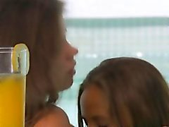 Russian teen chicks play secret love and suck bodies