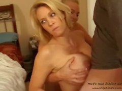 Stepson fuck his sister and his mom - سكس محارم نار