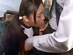 Nana ogura fucked on a bus with an audience