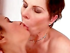 Grandmas and Teens Pussy Licking Compilation