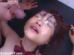 Gobs Of Jizz On The Sweet Japanese teen