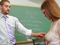 Teen: Lara Brookes - Nice Muff for Teacher
