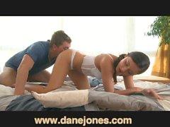 DaneJones Creampie in teen, juicy orgasm, hot couple