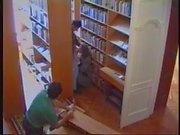 Library gangbang
