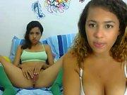 Amateur Teen Lesbians in Lingerie
