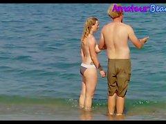 Random Topless Beach Voyeur Sexy Teens Video