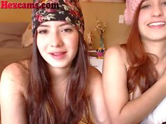 Webcam Teens Have A Slumber Party