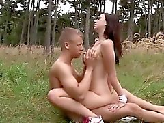 First time outdoor sex