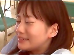 Little jap school babe having sex with her professor