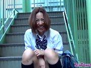 Tokyo teenagers tease