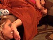 Lesbian worship Alexis Grace sleepy feet