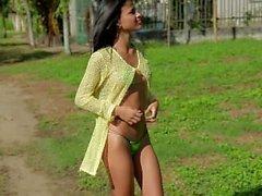 Denisse Gomez tiny bikini