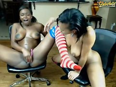 Two black boners fucked big boobs ebony Monique Symone