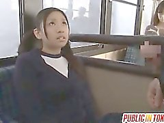 Teen Nana Ogura Fucks A Stranger On A Public Bus