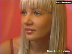 Hot Blonde Teen Naked On Webcam