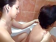 OldNanny Two horny woman masturbate hard