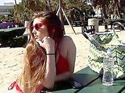 Gina Valentina licking Kobi Brians tits and pussy