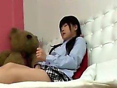 Cute Horny Asian Babe Banging
