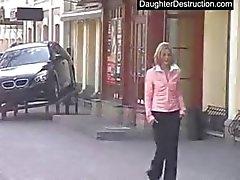 Young teen girl hate fucked hard