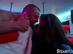 Party cfnm teen strokes