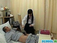 Nice teen slut in school uniform hardcore action with dick riding
