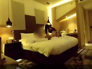 Busty chinese leggy prostitute on cam