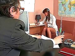 Blowjob for mature teacher