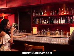SheWillCheat - Wife Fucks BBC in Bathroom