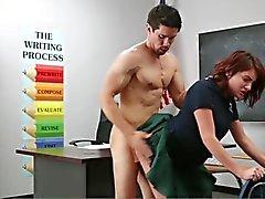 InnocentHigh innocent brunette student tempted to