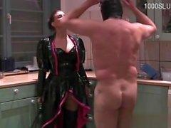 Cute pornstar pussy spanking