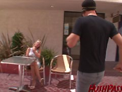 Carolyn teaches a young stud how to fuck a MILF!