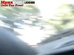 Webcam Teen Masturbating In Her Car