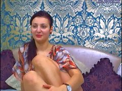 hot brunette showing her body just for you 1 .wmv
