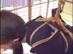 Japanese schoolgirl bdsm