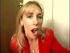 Wife Swallows and Chokes on Cum