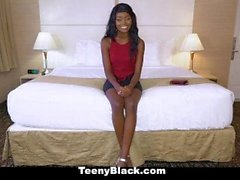 TeenyBlack - Hot Black Teen Kandi Monaee Fucked