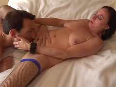 Mature woman likes young meat