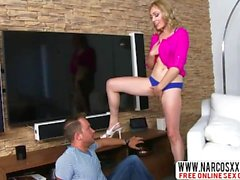 Arrogant StepSister Lily LaBeau Dreams About Mega Sex