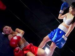 Japanese Lesbian Boxing