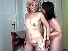 Mature sluts bring home a young lady